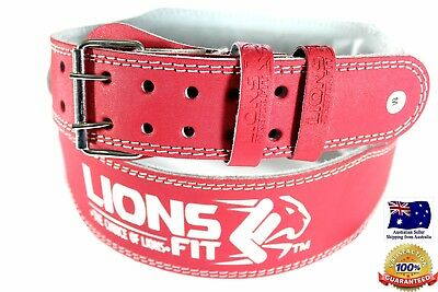 """4"""" Wide Ladies Pink Artificial Leather Weight Lifting Belt Bodybuilding Gym Belt"""