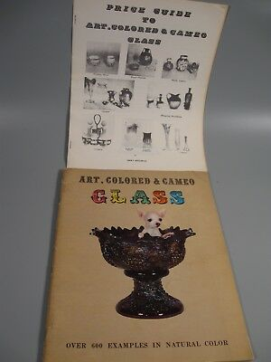 Vintage Art Colored & Cameo Catalog with Price Guide Over 600 Color Photos 1967
