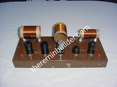 Theremin Chassis Set with Coils, Assembled/Tested, Keppinger DIY Model MK-1 Tube