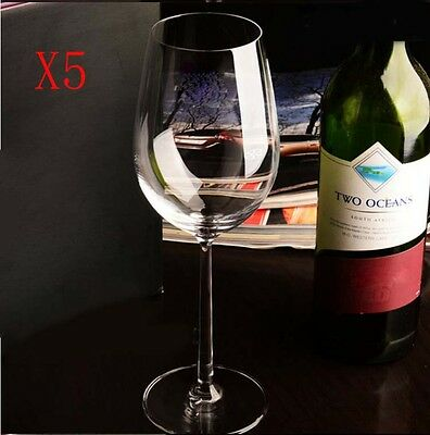 New 5X Capacity 405ML Height 244MM Lead Free Red Wine Glass/Glassware %