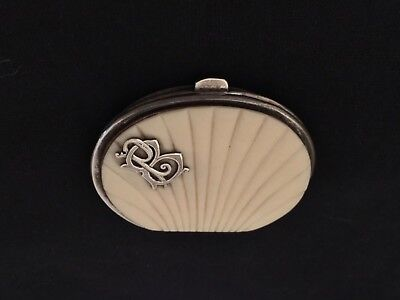 Antique  French Ivory Coin Purse