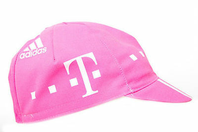 TELEKOM RETRO CYCLING TEAM CAP - Vintage - Fixed Gear - Made in Italy
