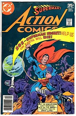 Action Comics # 1977 Cents issue!  VG+. Lovely Comic! Superman Full-Length!