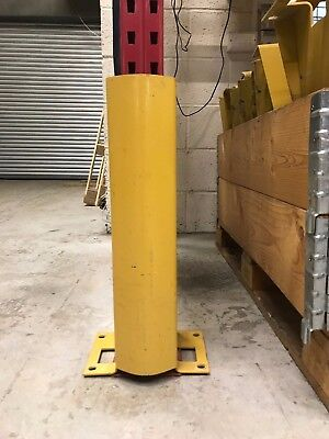 Link 51 Steel Column Guards/ Protection Guards for Warehouse Pallet Racking