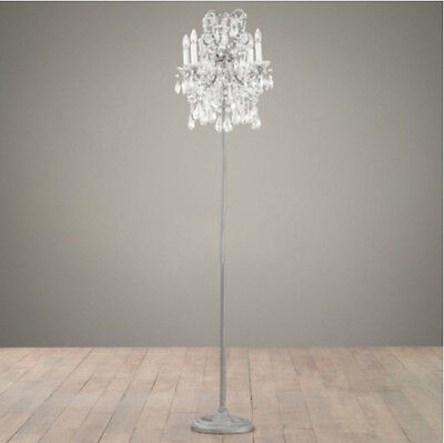 * Modern Crystal Style 4*Lights Height 162CM Decoration Living Room Floor Lamp