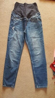 over bump maternity jeans Size 14 from H&M