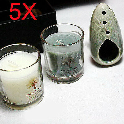 5X Valentine's Day Yoga Treatments Scented Candles Wholesale Lots 5 Set