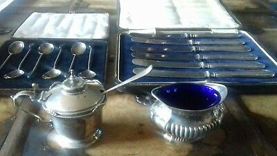 Solid silver antiques