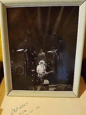 "Grateful Dead - Bob Weir  8"" x 10"" - Black & White Print winterland 77"