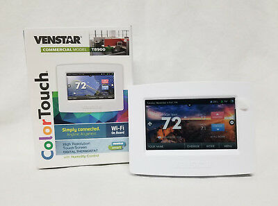 ~Discount HVAC~ VN-T8900 - Venstar Color Touch Thermostat Wifi Humidity Control