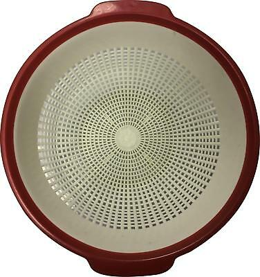PRE-OWNED FPT Family White Mix Vintage Large Colander SM307
