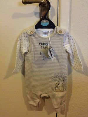 Guess How Much I Love You Dungaree Set, New