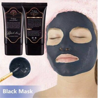 Charcoal Activated Black Face Mask Blackhead Remover Peel Off Facial Black Mask