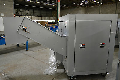 SEM Model 0304-.375 Rotational Platter Solid State Drive Shredder under 2 hrs