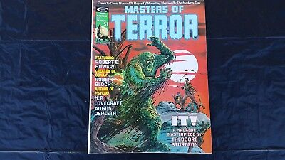 Masters of Terror #1 MARVEL/Curtis Magazine HIGH GRADE Horror beautiful book