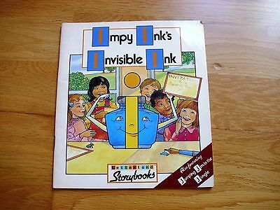 LETTERLAND storybook IMPY INK'S INVISIBLE INK vgc