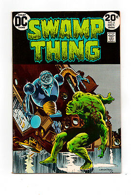 SWAMP THING #6  ( Len Wein, Bernie Wrightson) VFN HIGH GRADE