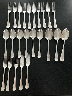 Vintage silver plated cutlery Mappin & Webb