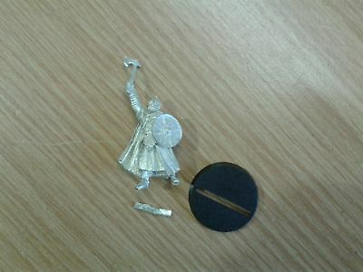 LOTR Lord Of The Rings ROHAN CAPTAIN WITH AXE  metal OOP