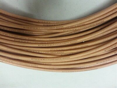 Harbour Industries MIL-DTL-17 RF Microwave Coaxial Cable 10FT RG142