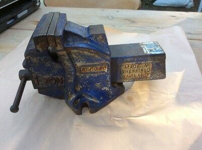 Record 1 Ton Engineering Vice 4 Inch Jaws