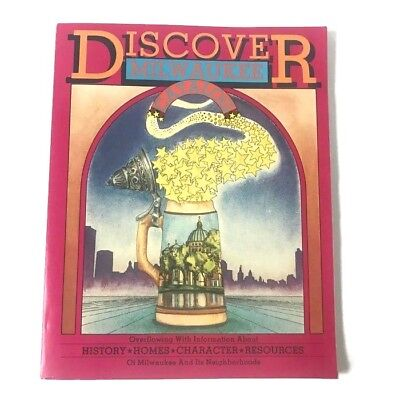 VTG Discover Milwaukee Catalog of History Homes Resources 1986 Wisconsin {A111}