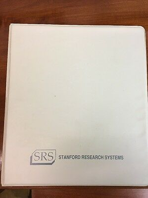 SRS DS345 Synthesized Function Generator Operating Manual &Programming Reference