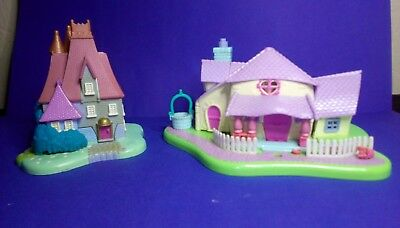 1995 PollyPocket Disney Minnie Mouse Surprise Party House -Cinderella Stepmother