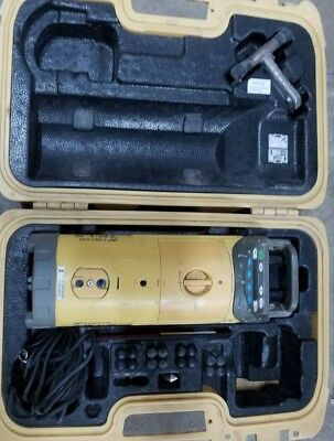 Topcon TP-L5 Red Beam Sewer Pipe Laser Case Target Footbase