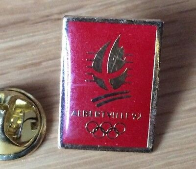 PIN'S PINS BADGE JEUX OLYMPIQUES 100 dispo Albertville 92 grand format