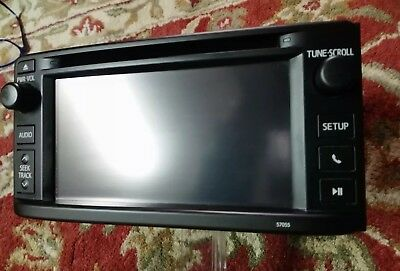 2013 13 TOYOTA HIGHLANDER radio cd touch display screen 86140-0E110 OEM 57055