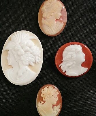 Vintage/antique Cameos