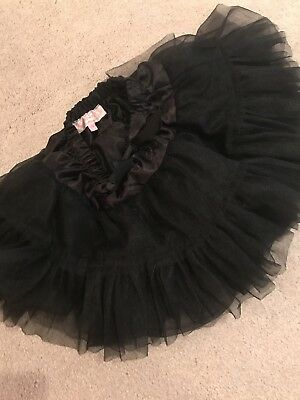 Boutique Wheat Popatu Black Skirt Tutu Toddler 24 Month WOW, great condition