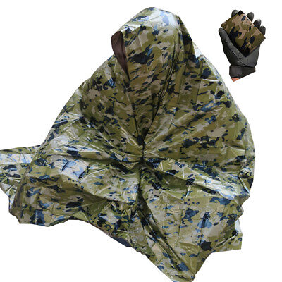 OCP (Operational Camouflage Pattern) Survival Blanket - Reversible - Tactical