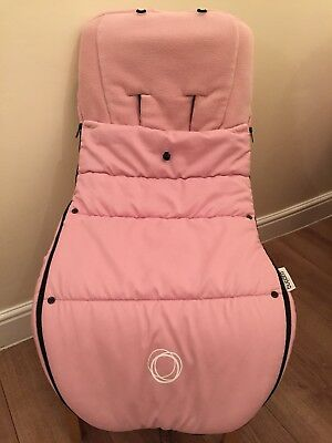 Bugaboo Soft Pink Universal Footmuff fits all bugaboo prams excellent condition