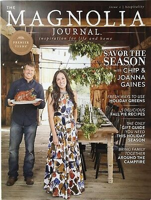 THE MAGNOLIA JOURNAL Magazine Premier Issue #1 2016 CHIP & JOANNA GAINES HGTV