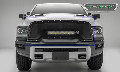 "T-Rex 6314641 Torch Series Grille Replacement w/ 20"" LED 15-17 Ram Rebel 1500"