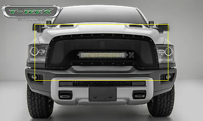 "T-Rex 6314641-BR  Torch Grille Replacement w/ 20"" LED 15-17 Ram Rebel 1500"