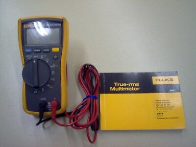 Fluke MultiMeter Model 116 With True RMS and Test Leads