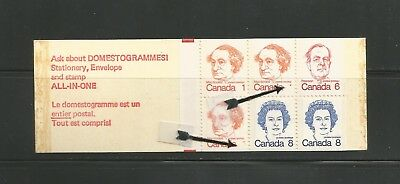29-  CANADA BKT 74  MISSING 1s    * 1