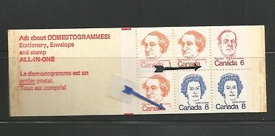 30-  CANADA BKT 74  MISSING 1s    * 2