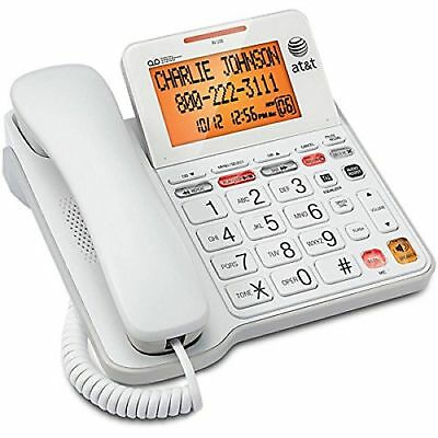AT&T CL4940  Corded Phone with Speakerphone Answering System, Caller ID Backlit