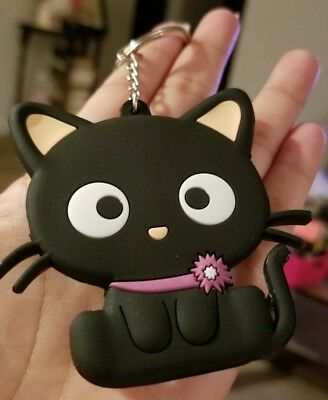Chococat Keychain 3in Cute Design on both sides Perfect GIFT NEW Kawaii CSA