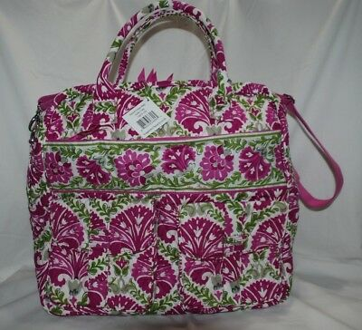 NWT Vera Bradley JULEP TULIP Grand Cargo Bag  XL Carryon Tote Luggage Travel NEW