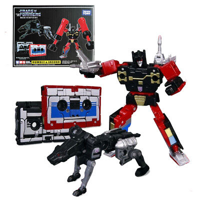 Masterpiece MP-15 Rumble & Jaguar Cassettes Transformers Action Figure KO Toy