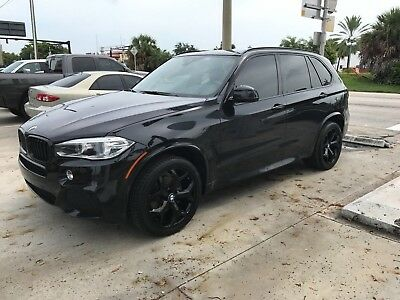 2014 BMW X5 xDrive35i Sport Utility 4-Door Clean Carfax Highly Optioned M sport with Factory warranty New Wheels & Tires