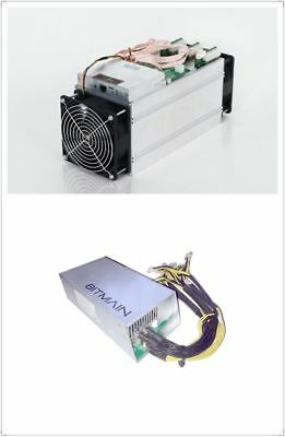Bitmain Antminer T9 with PSU APW3++ In Hand