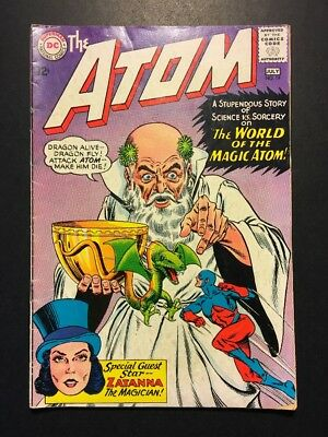 THE ATOM #19, DC, 2nd app. Zatanna, June - July 1965, G/VG cond, Free Shipping!!