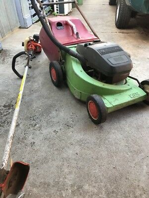 Vintage Victa Mower And Stihl Whipper Snipper Relisted Due To Non Paying Bidding