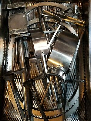 Codman Surgical Table Mounted Bookwalter Retractor Set Complete